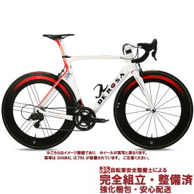 (SALE!)ロードレーサー 2019 DE ROSA デローザ SK PININFARINA SK ピニンファリーナ CAMPAGNOLO SUPER RECORD 2×12S WHITE RED GLOSSY サイズ50 (店頭受取)