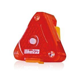 (ネコポス便対応商品) UNICO ユニコ BIKEGUY バイクガイ トライスター 充電式 リア テールライト USB充電 (4582188491277)