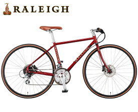 即納有(選べる特典付)クロスバイク 2021 RALEIGH ラレー RFT Radford Traditional ラドフォード トラディショナル キャニオンレッド 24段DiscBrake 700C