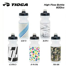 (TIOGA)タイオガ BOTTLE ボトル High Flow Bottle (600cc) ハイフロウボトル600cc (WBT060)