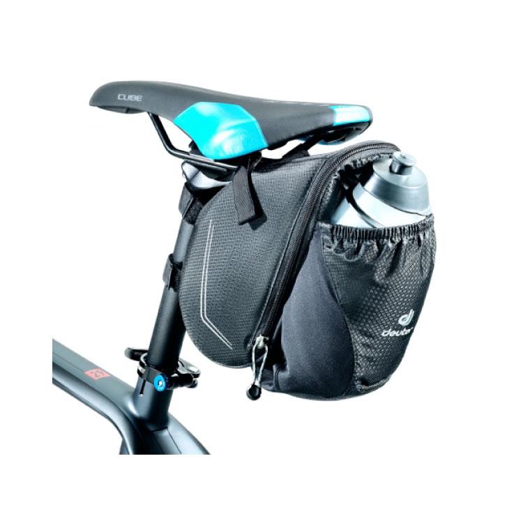 deuter ドイター BIKE BAG BOTTLE バイクバッグ ボトル ブラック サドルバッグ(3290517-7000)