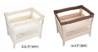 啊,普裏卡這裏法蘭絨空氣手提式嬰兒床小型床