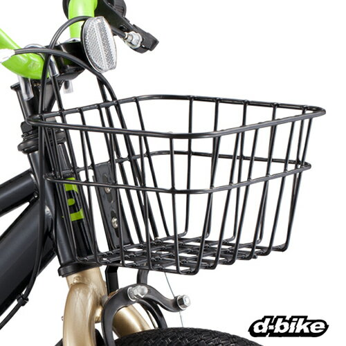 アイデス (ides) 16/18インチ自転車用バスケット(前カゴ)【クレジットOK!】 D-Bike 子ども用 キッズ 自転車パーツ