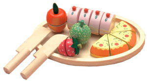 ままごとランチパーティー 【エドインター】包装・のし対応可能♪木のおもちゃ