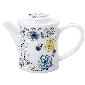ポット コーヒーポット ギフトパッケージ入り カトウ シンジ フラワーデザイン 野の花 デザイナーズ 食器 日本製 陶器 お洒落 お祝い 贈答品生活 雑貨 取寄品 結婚祝い のし利用可