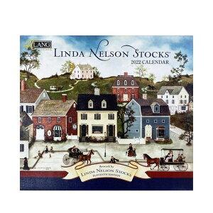 2022年 カレンダー LANG 壁掛け Linda Nelson Stocks ラング カントリー 風景 インテリア 令和4年暦 v-2108clcp 100円クーポン