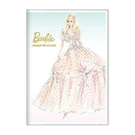 手帳 2022 B6 マンスリー バービー ロバートベスト グリーン Barbie サンスター文具 スケジュール帳 10月始まり 月間 ダイアリー 令和4年 手帖