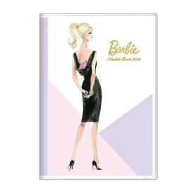 手帳 2022 B6 マンスリー バービー ロバートベスト バイオレット Barbie サンスター文具 スケジュール帳 10月始まり 月間 ダイアリー 令和4年 手帖