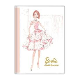 手帳 2022 B6 ウィークリー ブック バービー ロバートベスト ピンク Barbie サンスター文具 スケジュール帳 10月始まり 週間 ダイアリー 令和4年 手帖
