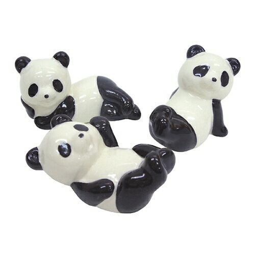 キュートなパンダの箸置き3個セット 面白食器ギフト通販【あす楽】【プレゼント】 【のし利用可】