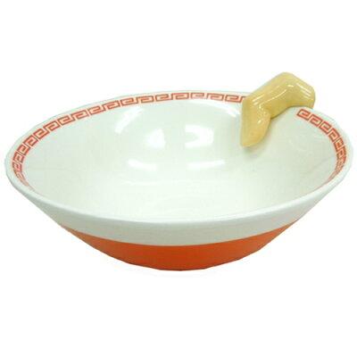おばちゃん、指入ってるやん!!のラーメン鉢☆面白食器ギフト通販☆●