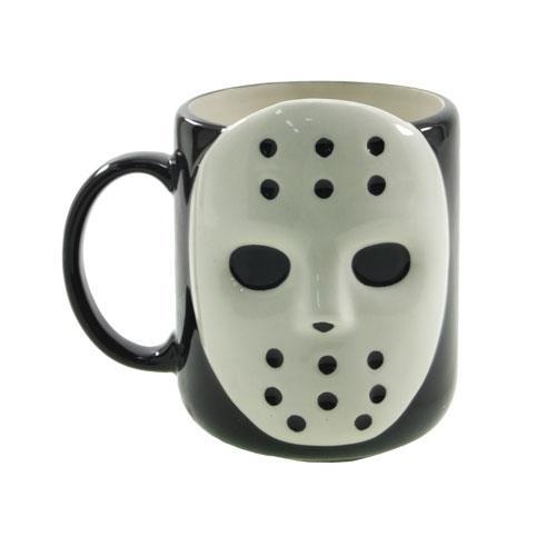マグカップ 陶器製 ホラーマスク ジェイソン風 面白雑貨 食器 通販 【プレゼント】【バースデー 誕生日ギフト】【あす楽】