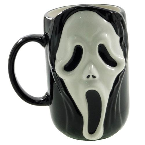 マグカップ 陶器製 ホラーマスク スクリーム風 面白雑貨 食器 通販 【プレゼント】【バースデー 誕生日ギフト】【あす楽】