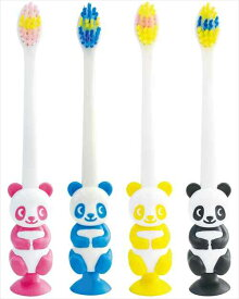 吸盤付き歯ブラシ パンダ 歯ブラシユーカンパニー Tooth Brush 可愛い 洗面用具グッズ店