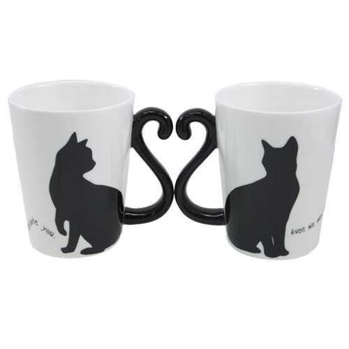 マグカップ ギフト ペア マグカップ 猫 雑貨 2個セット 黒猫 マグカップ シンプル アルタ 可愛い 新婚祝い プレゼント食器ギフトクロネコ 雑貨 【プレゼント】【誕生日ギフト】【結婚祝い】【あす楽】 【のし利用可】