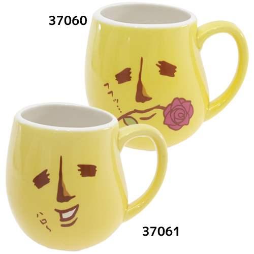陶器製マグ マグカップ エリートバナナ バナ夫 カミオジャパン 食器 ギフト 通販