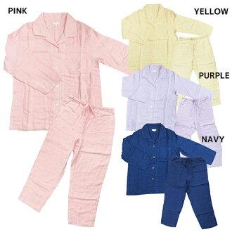 棉花糖紗布睡衣睡衣婦女女裝 UCHINO 棉 100%輕鬆的家居用品店