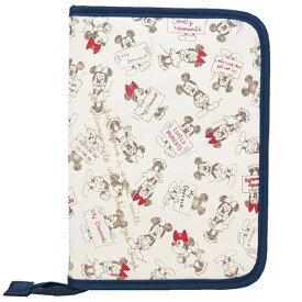 片面ジャバラマルチケース 母子手帳ケース ミッキー&ミニーディズニー マザー 雑貨 メール便可