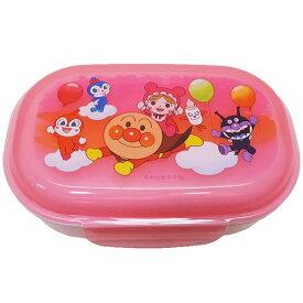 フォーク付き ランチボックス お弁当箱 アンパンマン ピンク レック 270ml 日本製