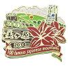 含2段大头针大头针徽章日本百名山美原鳐鱼科收集盒子的山间途步登山邮购铃一般