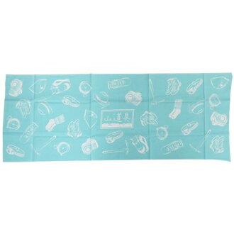 手巾日本手巾山道配料蓝色鳐鱼科90*33cm山间途步登山邮购铃一般