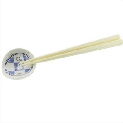 磁器製チョップスティックレスト箸置きミッフィー市松ディックブルーナ金正陶器ギフト雑貨日本製和食器通販【メール便可】