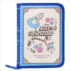 片面ジャバラマルチケース 母子手帳ケース ふしぎの国のアリス ブック型 ディズニー ママ 雑貨 メール便可