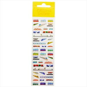 ラコルテステッカー シールシート 電車 RCM121 鉄道 S&Cコーポレーション かわいい 手帳デコ ラッピング 雑貨 メール便可