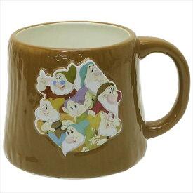 きり株マグ マグカップ 白雪姫 七人のこびと ディズニー サンアート かわいい ギフト プレゼント