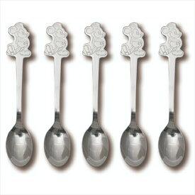 ステンレススプーン5本ギフトセット ギフト食器 ミッキーマウス スタンディングMickey ディズニー ヤクセル 14cm 贈り物 通販