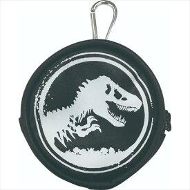 カラビナ付きコインケース 小銭入れ ジュラシックワールド 炎の王国恐竜 インロック コインパース コレクション雑貨