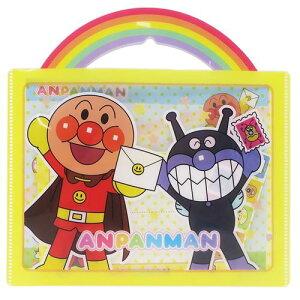 おてがみセット アンパンマン レターセット サンスター文具 便箋 封筒 シール クリアバッグ 日本製 メール便可
