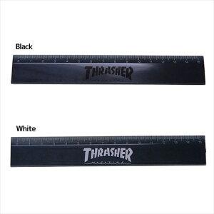 スリム15cm定規 ものさし THRASHER スラッシャー サカモト 文具 スケーター スポーツブランド メール便可