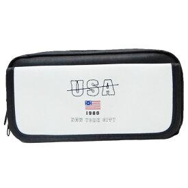 フラップBOXペンケース ペンポーチ シンプル USA カミオジャパン 新学期準備雑貨 筆箱 おしゃれ通販