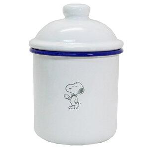 ホーロー製 キャニスター 食品 保存容器 スヌーピーピーナッツ マリモクラフト 新生活準備 雑貨 砂糖ポット