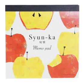 スクエア メモパッド Tomoko Hayashi メモ帳 アップルミックス クローズピン 4柄100枚 プチギフト ガーリーイラスト メール便可