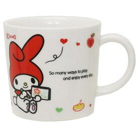 磁器製 マグS マグカップ マイメロディ お絵かき サンリオ 金正陶器 日本製 ギフト 雑貨
