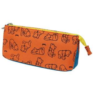 5ポケット ペンケース 筆箱 くまのプーさんディズニー デルフィーノ 新学期 準備 ペンポーチ