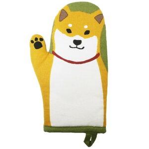 キッチン ミトン 柴田さんの住む東京わさび町 鍋つかみ しばたさん 柴犬 FRIENDSHILL キッチン用品 ギフト 雑貨 メール便可