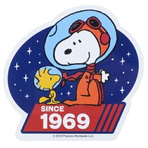ダイカット ビニール ステッカー ステッカー スヌーピー スヌーピー&ウッドストックマーズ ピーナッツ スモールプラネット デコシール Mission to Mars メール便可