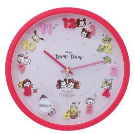 アイコン ウォールクロック ディズニーツムツム 壁掛け時計 ディズニー ティーズファクトリー 新生活 準備 ギフト 雑貨