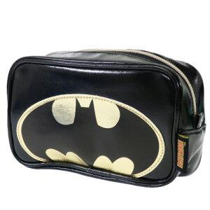 スクエア ポーチ コスメポーチ バットマン バットマンロゴ DCコミック スモールプラネット 小物入れ ギフト 雑貨