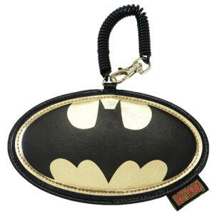 ダイカット パスケース バットマンロゴ バットマン 定期入れ DCコミック スモールプラネット ICカード入れ 通勤通学 メール便可