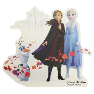 シール ダイカット ステッカー アナと雪の女王2 アナとエルサとオラフ ディズニー デルフィーノ コレクション 雑貨 プチギフト メール便可