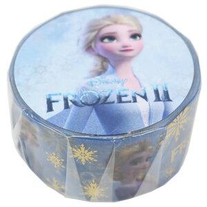 箔入り 20mm マスキングテープ アナと雪の女王2 エルサ ディズニー デルフィーノ 手帳デコ メール便可