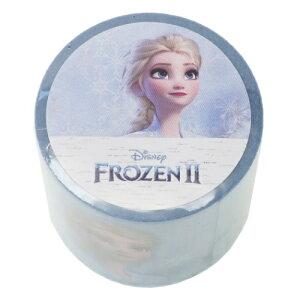 YOJOテープ 45mm デザイン 養生テープ アナと雪の女王 2 エルサ ディズニー Disney デルフィーノ ビッグマステ 幅広梱包テープ