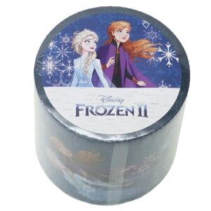 YOJOテープ 45mm デザイン 養生テープ アナと雪の女王2 ブルー ディズニー デルフィーノ ビッグマステ 幅広梱包テープ