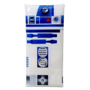 クリア マルチケース 筆箱 スターウォーズ R2-D2 シンプル STAR WARS マリモクラフト ペンポーチ メール便可