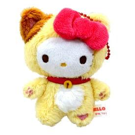 マスコット ミニ ぬいぐるみ ボールチェーン ハローキティ Happy Catシリーズ サンリオ ケイカンパニー かわいい プレゼント 通販