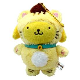 マスコット ミニ ぬいぐるみ ボールチェーン ポムポムプリン Happy Catシリーズ サンリオ ケイカンパニー かわいい プレゼント 通販